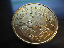 REX gods and heroes 1988 new orleans mardi gras doubloon alum coin