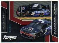 2016 Panini Torque Racing Painted to Perfection Red Parallel /49 #8 Kasey Kahne