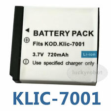 Battery for Kodak Klic-7001 M1063 MX1063 MD1063 Camera