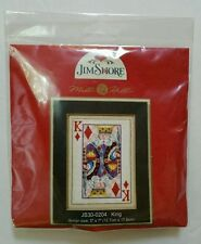 Beadshine Jim Shore King Of Diamonds Cross Stitch Kit Poker Card Mill Hill Beads