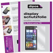 2x Nokia Lumia 730 / 735 Protector de Pantalla protectores transparente