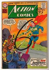DC  Action Comics SUPERMAN VG 291 SILVER AGE 1962