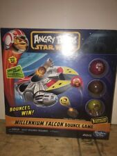 ANGRY BIRDS STAR WARS MILLENIUM FALCON BOUNCE GAME Factory Sealed 2013 HASBRO