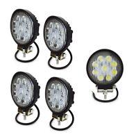 4x Flutlicht 27W 3Wx9 Weiß LED Scheinwerfer Arbeitsscheinwerfer Garten 12-24V