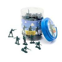 Disney Toy Story Verde Ejército Hombres Cubo O'Soldados Mini Figuras 90 Pieza