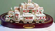 Avon Holiday Express Porcelain Train IOB