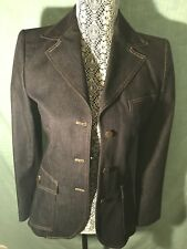 Dolce Gabbana S Ladies BlaZer With Leopard Lining Fitted Styled