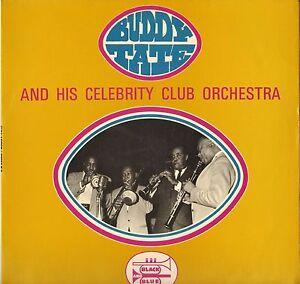 "BUDDY TATE ""FAT BACK AND GREENS"" JUMP BLUES FRENCH 60'S LP BATON TRACKS !"