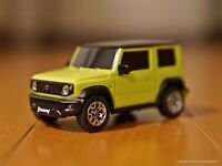 1/43 Suzuki Jimny Sierra JB74W Official 2018 Pull Back Mini Car Yellow NEW F/S