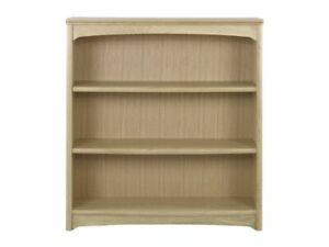New Boxed Nathan Furniture Editions Oak Mid Height Bookcase Shelf RRP £742