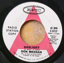 ROCK/POP white label promo 45: DON MEEHAN Gaslight/All I Want is What's Real