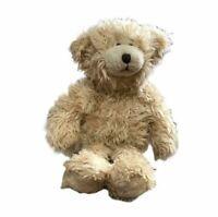 Fuzzy Beige Teddy Bear Soft Plush Animal Toy