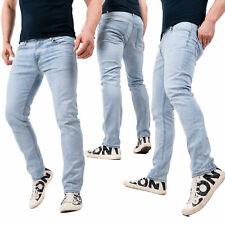 Jeans Uomo Regular Fit Pantaloni Estivi Primavera Elasticizzati Estate 2021