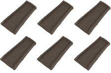 (6) ea Suncast SBR24 Brown Decorative Gutter Downspout Splash Blocks