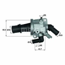 Integral Thermostat - MAHLE TI 153 88 - Quality MAHLE - Genuine UK Stock