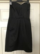 Miss Selfridge Black Dress Size 8 With Tags