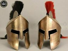 Combo Medieval Spartan Helmet King 300 Leonidas Armor Helmet Set Of 2 Pieces