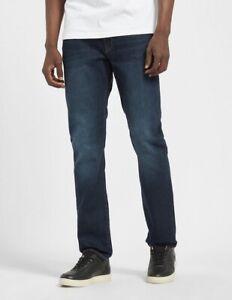 Armani Exchange AX Jeans Size 36 R Mens Stretch Cotton Slim Fit Indigo Denim