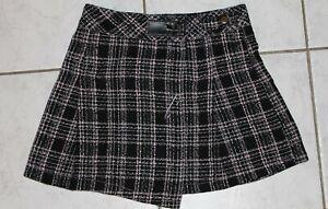 Jupe écossaise plissée pour fille