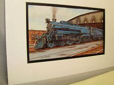 Baltimore Ohio RR The Lady Baltimore 1934  Artist Railroad Archives bt