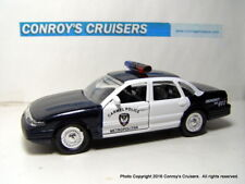 Road Champs 1/43rd scale Carmel, Indiana Police diecast car