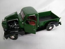 MOTOR MAX / AMERICAN CLASSICS / GREEN 1941 PLYMOUTH PICKUP 1:24 DIE CAST CAR NIB