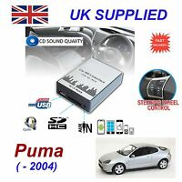 For Ford PUMA MP3 SD USB CD AUX Input Audio Adapter Digital CD Changer Module 12