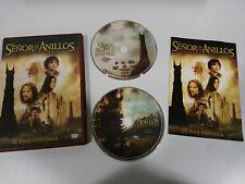 EL SEÑOR DE LOS ANILLOS LAS DOS TORRES 2 X DVD EDICION ESPECIAL ESPAÑOL ENGLISH