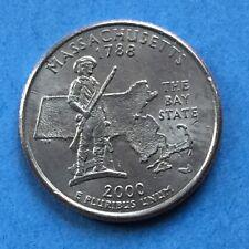 2000 USA  Quarter $1/4 Dollar Coins - 2