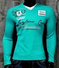 Lange Herren-Pullover & -Mittel mit Baumwolle