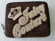 Juicy Couture  Wallet - Organizer Zip-around Brown with Coin Purse