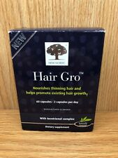 New Nordic Hair Gro with tocitrienol complex 60 Capsules AUGUST 2021