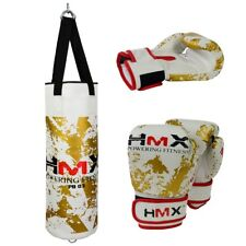 HMX KIDS PUNCHING BAG WITH BRACKET AND GLOVES SET BOXING STAND KICKING TRAINING
