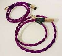 Audiophile Iso-Braid Balanced XLR Interconnects Neutrik 16AWG (Colors/Lengths)