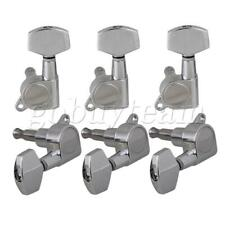 More details for 3r3l guitar machine head tuner tuning key for electric guitar bass set of 6