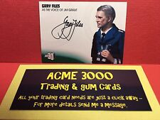 Unstoppable Gerry Anderson JOE90 - GARY FILES Autograph Jim Grant GF1