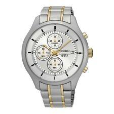 Seiko Gents Chronograph Dress Watch - SKS541P1 NEW