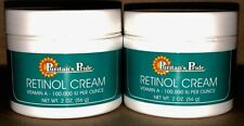 2X Retinol Cream Puritan's 2oz Jar Vitamin A 100,000 Iu/oz Soothe Summer Skin