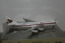 """Thai Airways B-747-400 (HS-TGH) """"APEC Thailand 2003"""", 1:400 Phoenix, SELTEN!"""