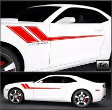 Car Truck or Suv hash Stripe Racing Graphic Decal Sticker Set Fits camaro 68X8.5