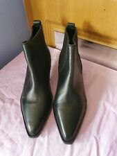 BN Ladies Black Ankle Boots Size 4UK