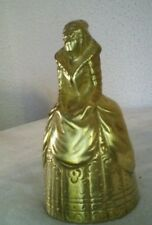 Vintage solid brass Queen Bell/ Victorian lady