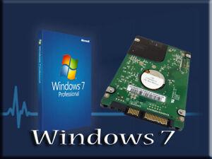 Panasonic ToughBook CF-30 HDD Laptop Hard Drive W/ Windows 7.