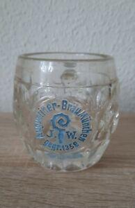 Bierkrug Brauerei Augustiner Bräu München Glaskrug