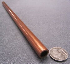 """0.04/"""" 1mm Wall 9.85/"""" Long 99.9/% Pure Copper Tube 0.984/"""" Dia US Stock 2x 25mm"""