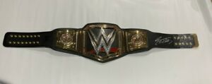 BILL GOLDBERG SIGNED FS WWE ADULT WORLD HEAVYWEIGHT CHAMPIONSHIP BELT JSA COA