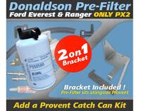 Pre Filter Dual Bracket Kit for Ford Everest Ranger 2.2L 3.2L PX2 TDCi 2015-18