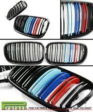 JET BLACK GRILLE KIDNEY W/ M STYLE COLOR FOR E70 X5 E71 X6 2008-2013 BMW