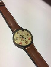 RARE 1994 Waltham FLINTSTONES Watch Moving Characters Second Hand New Battery