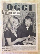 OGGI settimanale di attualità - n.21 26 maggio 1960 Belinda Lee